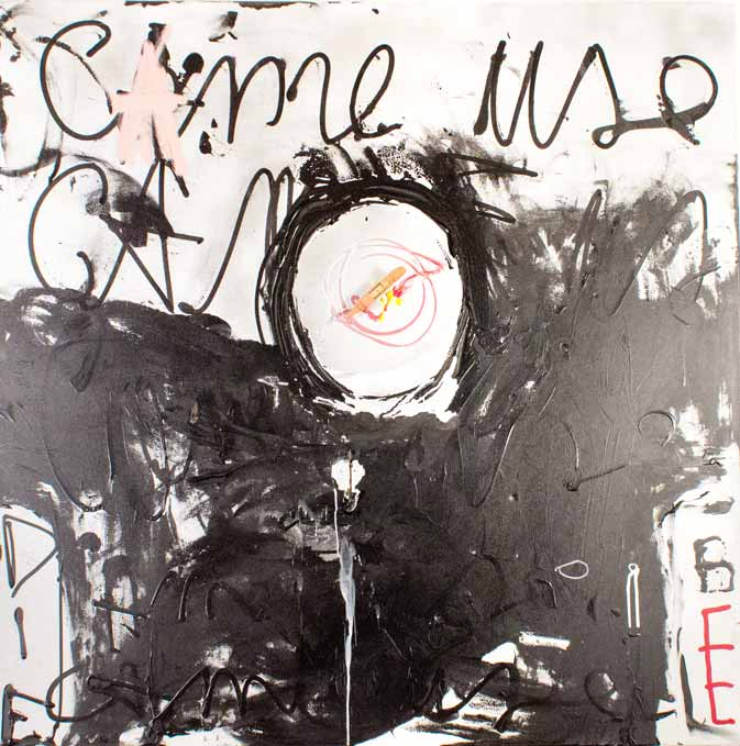 Came use, technique mixte, 119 cm x 119 cm, 2012